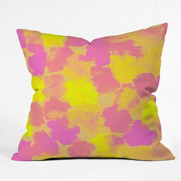 Rebecca Allen Spring Fevers Throw Pillow