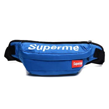 Men's and Women's Supreme Chest Pockets Oxford Casual Riding Bag  059