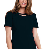 Careisma Round Neck Top (Regular) in Black from Jay's Uniform