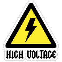 AC/DC High Voltage sign by TovarischChe