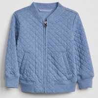 Quilted Bomber Jacket|gap