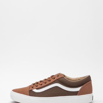 Vans - Old Skool Cup + Brown Sneakers