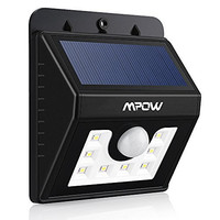 Mpow Bright Solar light, Solar Powered Security Lighting Outdoor Motion Sensor LED Lights for Garden Patio Fencing Path Lighting