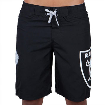 Oakland Raiders - Large Logo Youth Board Shorts