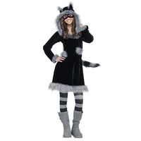 Sweet Raccoon Costume - Teen (Black)