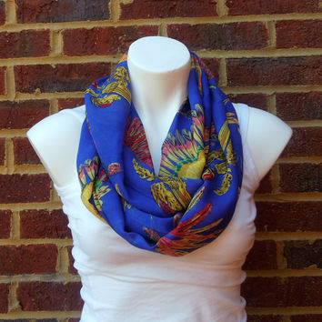 Sunflower Infinity Scarf