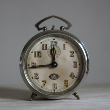 Vintage French Blangy  Alarm Clock