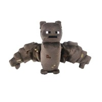 Zoofy International Minecraft Bat Plush Brown, 4.2inches