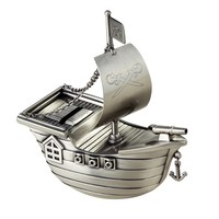 Deluxe Pirate Ship Coin Bank