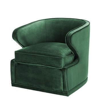 Green Lounge Chair | Eichholtz Dorset