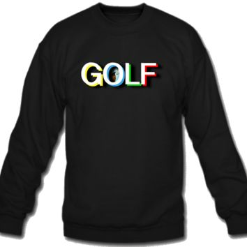 golf Sweatshirt Crew Neck