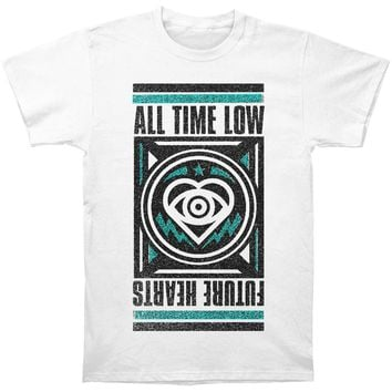 All Time Low Men's  Flagship Slim Fit T-shirt White