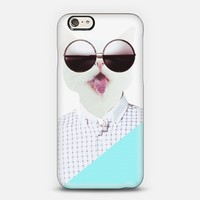 Cat Cut Your Tongue iPhone 6 case by lanaredstudio | Casetify