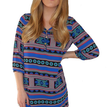 Mayan Shift Dress