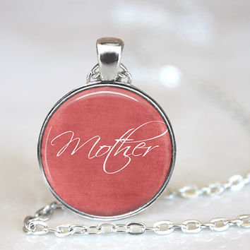 Mother, Mom Necklace, Christmas Gift, Birthday Gift, Mothers Day Gift, Gift Idea, Gifts for Mom, New Mom Gift