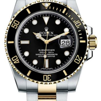 Rolex - Submariner Steel and Gold (116613)