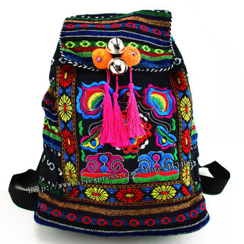 Tribal Neon Backpack