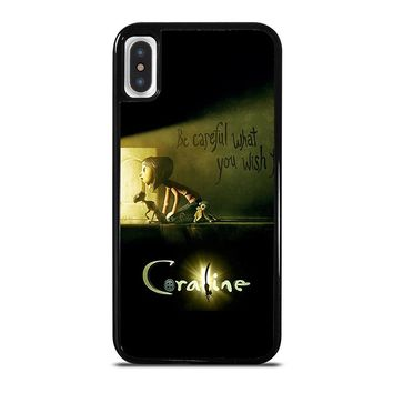 CORALINE iPhone X Case Cover