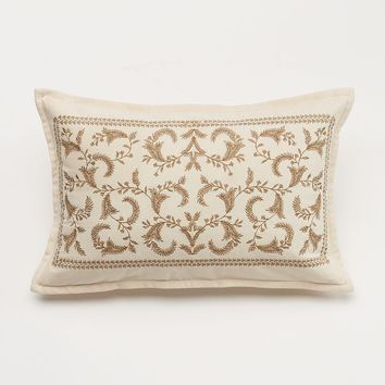 Chaps Home Embroidered Throw Pillow Sham (White)