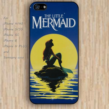 iPhone 5s 6 case colorful little mermaid phone case iphone case,ipod case,samsung galaxy case available plastic rubber case waterproof B327