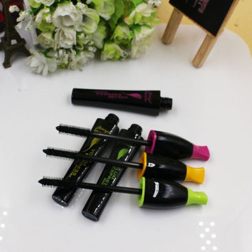 Women Cosmetic Makeup Black Extension Eyelash Mascara Length Long Curling Eye Lashes = 1705295940