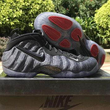 "Nike Air Foamposite Pro ""Foam in Fleece"" gray Size US8-13"