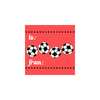 Soccer Gift Tag