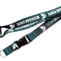 Michigan State Spartans Lanyard - Reversible