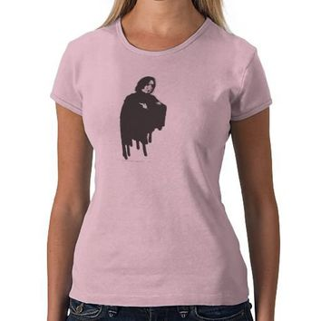 Severus Snape Arms Crossed B-W Tee Shirts from Zazzle.com