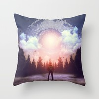 Waiting for the Sun to Rise Throw Pillow by soaring anchor designs