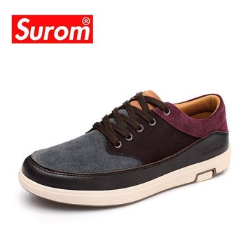 Men's Leather Casual Suede Moccasins