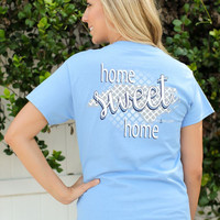 Southern Darlin North Carolina State Home Sweet Home NC Pattern Bright Girlie T-Shirt