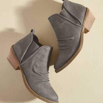 Jumping-Off Pace Bootie | Mod Retro Vintage Boots | ModCloth.com