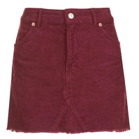 MOTO Cord High Waist Skirt - Skirts - Clothing