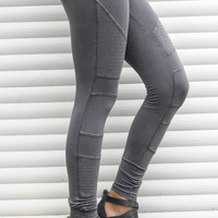 Someone New Charcoal Comfy Leggings