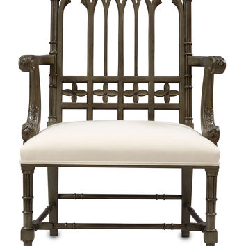 Gothic Chair design by Currey & Company