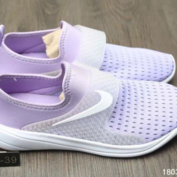 """Nike"" Women Sport Casual Barefoot Soft Bottom Shoes Sneakers Breathable Running Shoes"