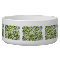 Crab apple blossom pet food bowl