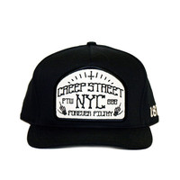 CREEP STREET — HORROR III SNAPBACK (BLACK)
