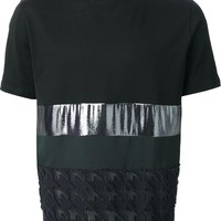 Lanvin Houndstooth Panel T-Shirt