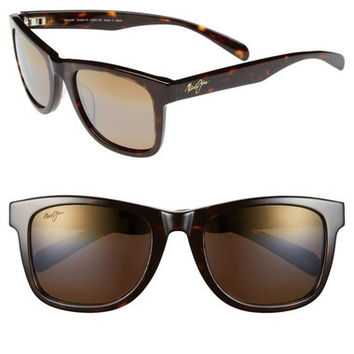 MAUI JIM 'Legends' 54mm Polarized Retro Sunglasses