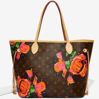 Vintage Louis Vuitton Sprouse Roses Neverfull MM Tote Bag