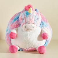 Plush One Pillow in Pastel Unicorn
