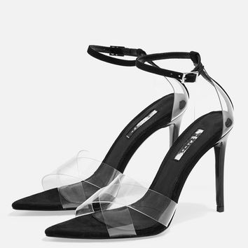 RITCHIE Clear Strap Sandals | Topshop