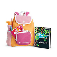 American Girl® Accessories: School Backpack Set