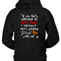 Harry Potter References Hoodie Two Sided