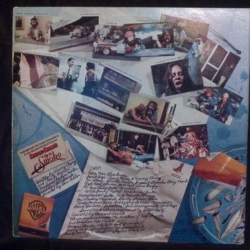 "Cheech y Chongs ""Up in Smoke"" Vinyl  record album LP"