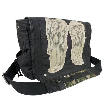 The Walking Dead Daryl Dixon Wings Messenger Bag Shoulder Bag Good Quality