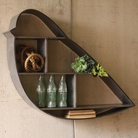 Sparrow Wall Shelf - Wall Shelves & Hooks -  Storage & Display | HomeDecorators.com
