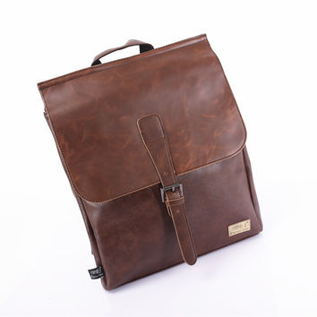 Casual Stylish Comfort College On Sale Back To School Hot Deal Vintage Korean Ppurses Men Tote Bag Couple Pen Backpack [6542458755]